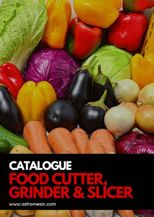 GAMBAR KATALOG FOOD CUTTER, GRINDER & SLICER