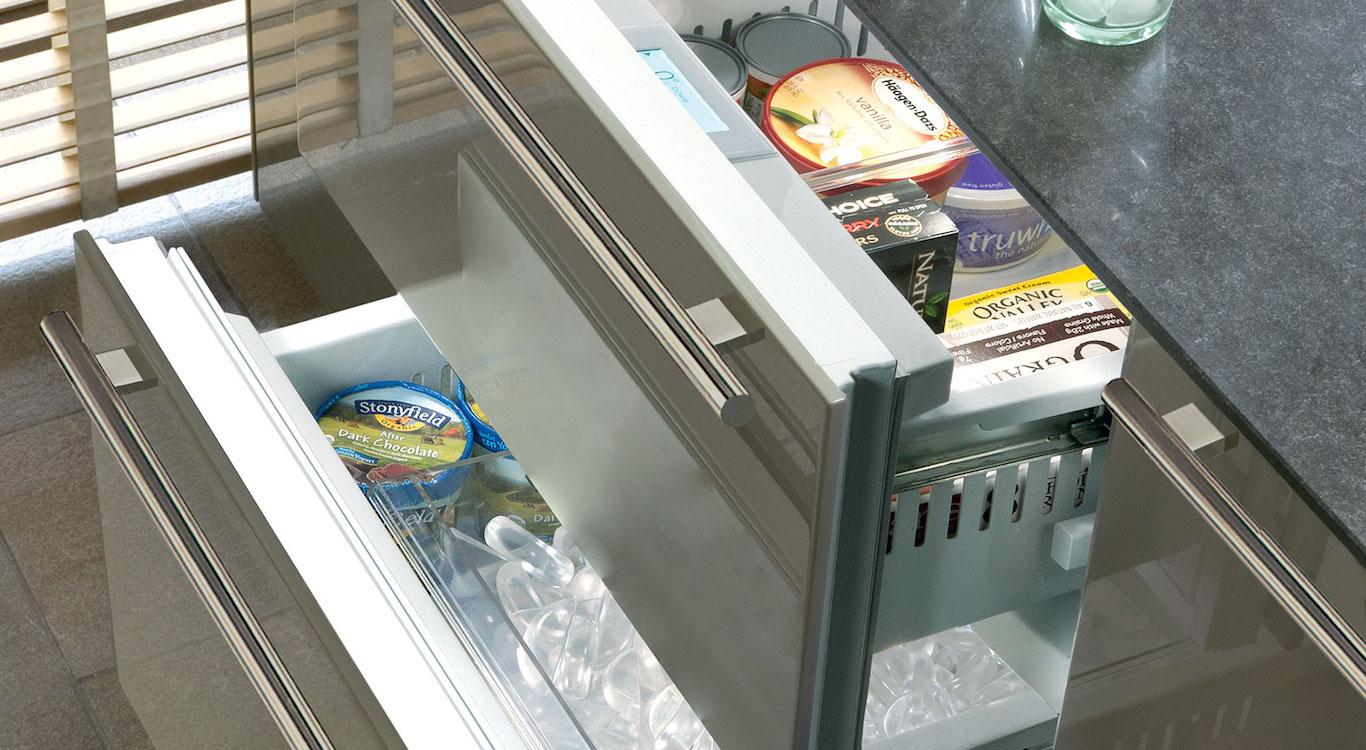 Under Counter Freezer Background