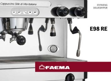 Cover Katalog Mesin Kopi FAEMA E98