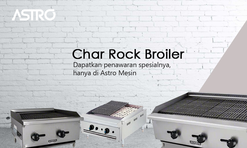 Kompor Gas Char Rock Broiler