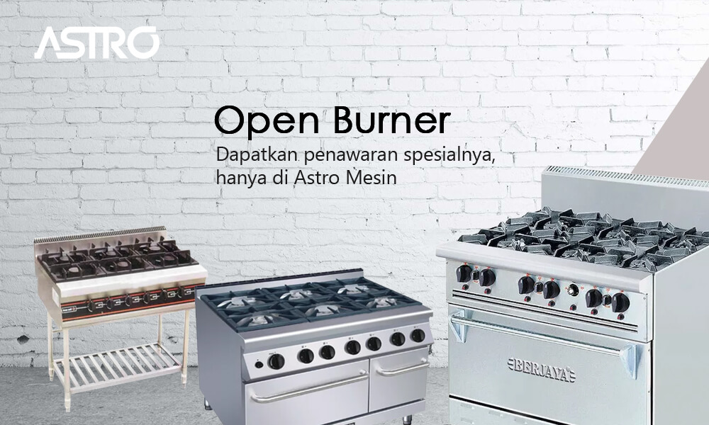 Alat Gas Open Burner