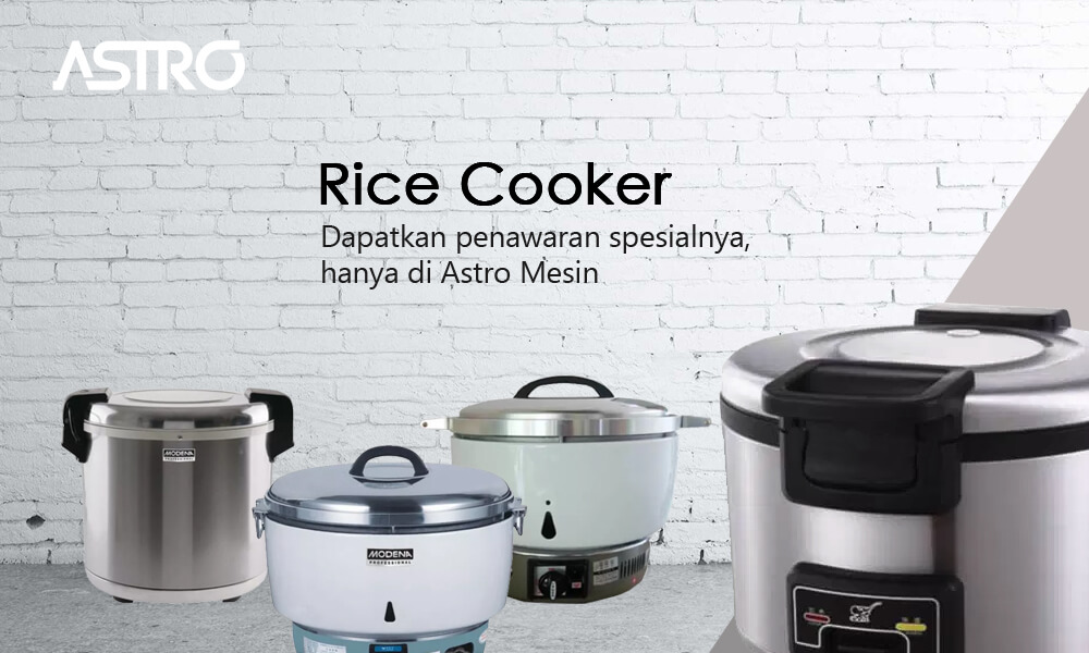 Alat Penanak Nasi Rice Cooker