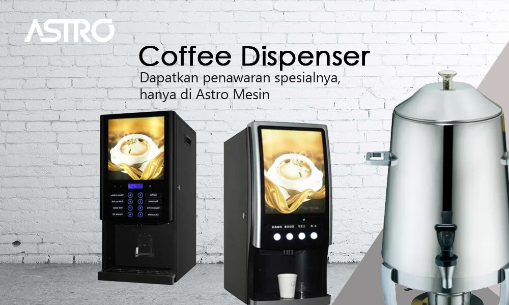 Mesin Coffee Dispenser