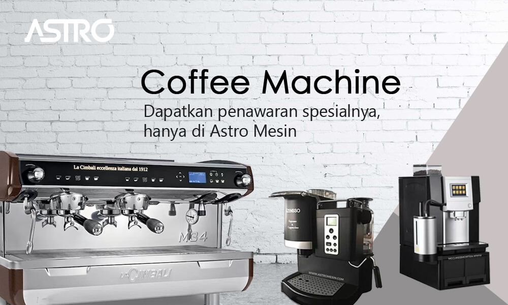Banner Coffee Machine / Mesin Kopi