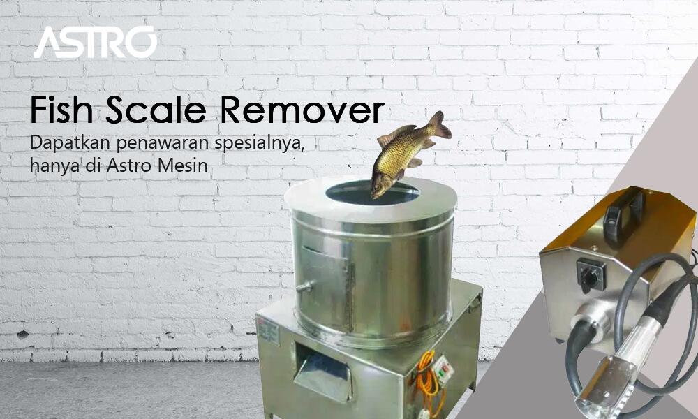 Banner Fish Scale Remover - Mesin Pengupas Sisik Ikan
