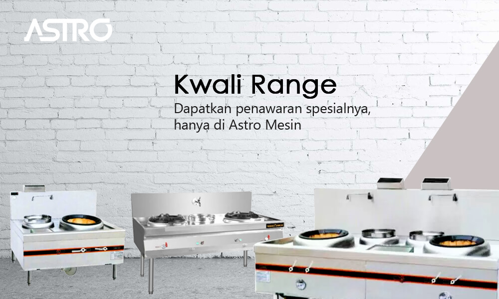 Mesin Gas Kwali Range