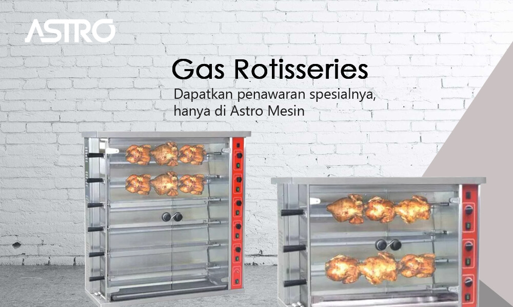 Mesin Gas Rotisseries