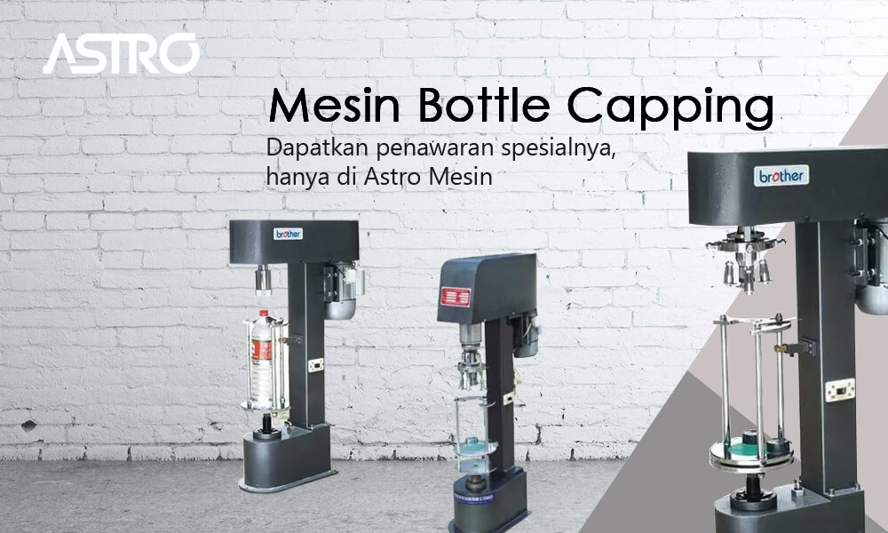 Mesin Bottle Capping