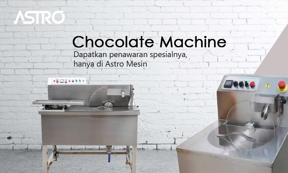 Mesin Coklat Leleh