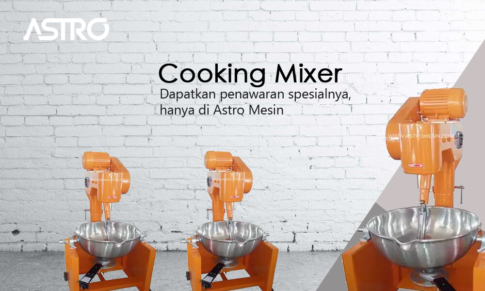 Mesin Cooking Mixer