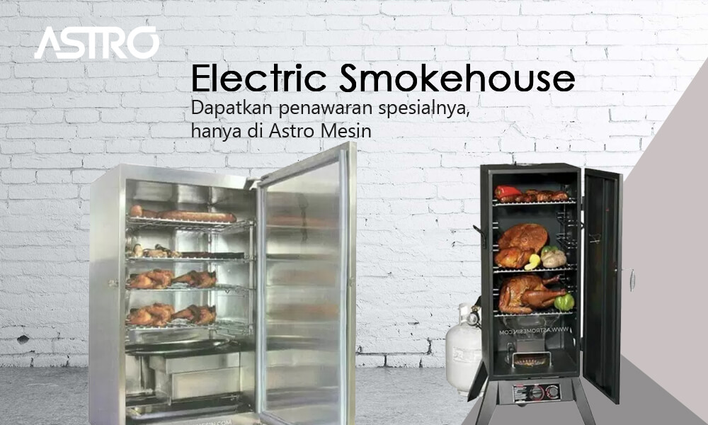 Mesin Daging Asap Smokehouse