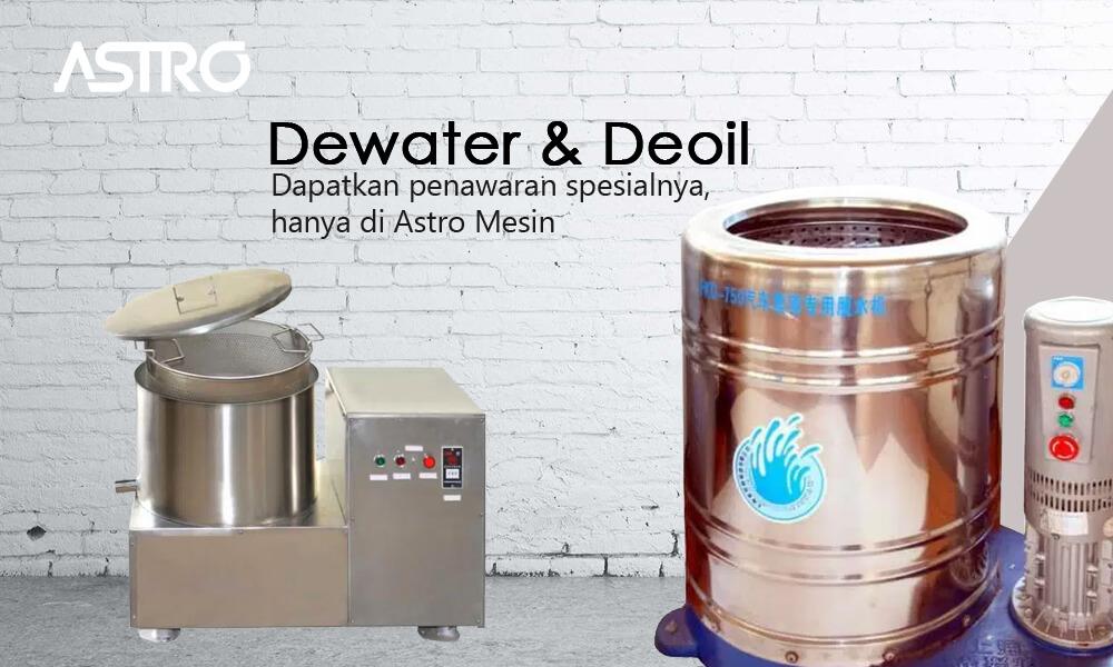 Mesin Dewater Deoil