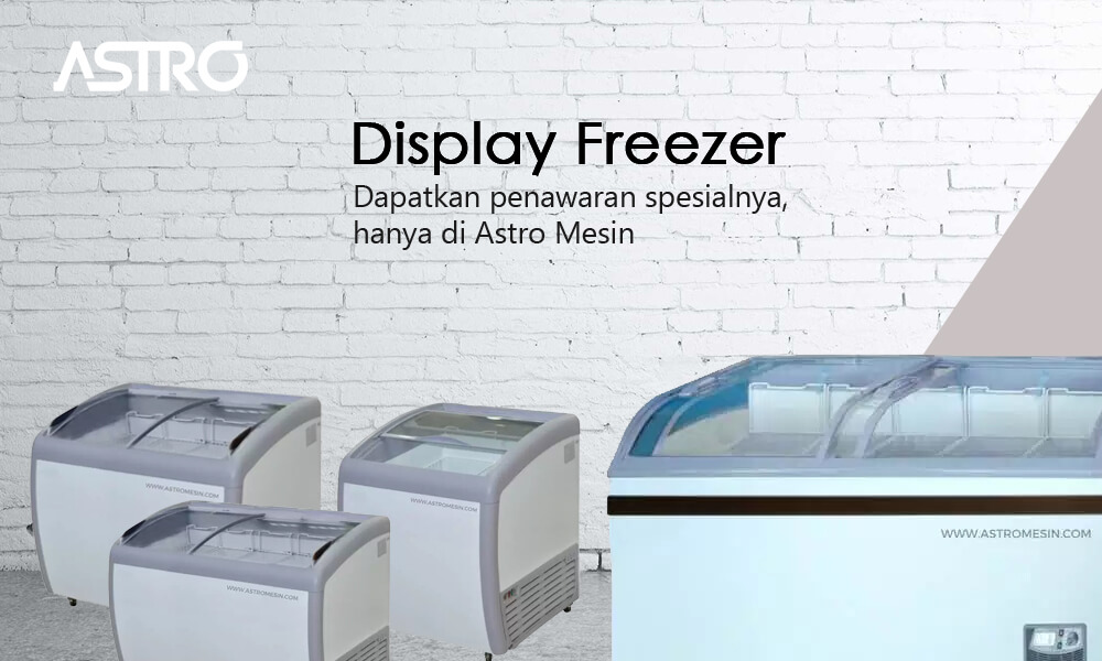 Mesin Display Freezer