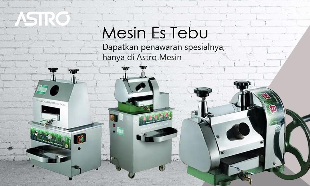 Banner Mesin Es Tebu / Mesin Giling Tebu