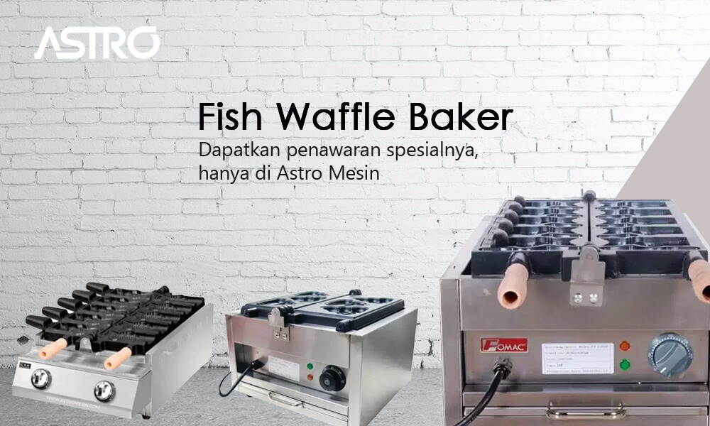 Mesin Fish Waffle Baker