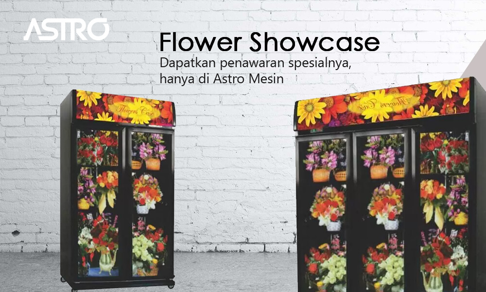 Mesin Flower Showcase
