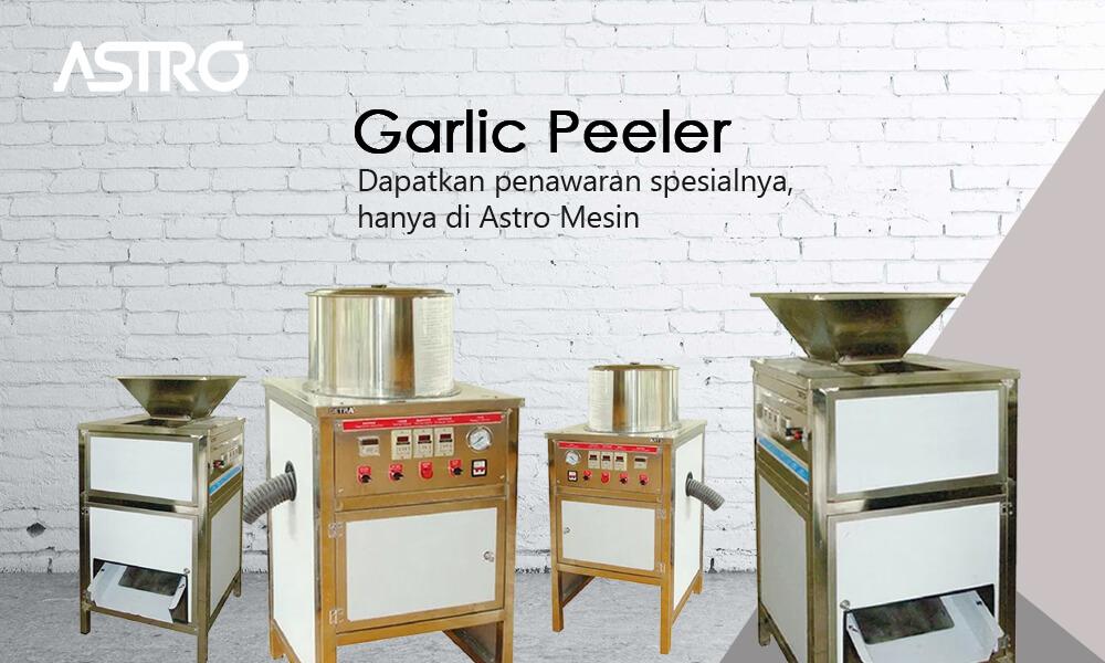 Banner Mesin Garlic Peeler / Mesin Pengupas Bawang