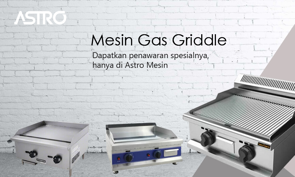 Mesin Gas Griddle