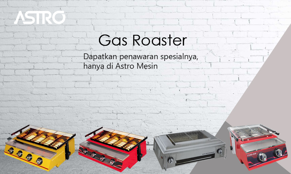 Mesin Gas Roaster