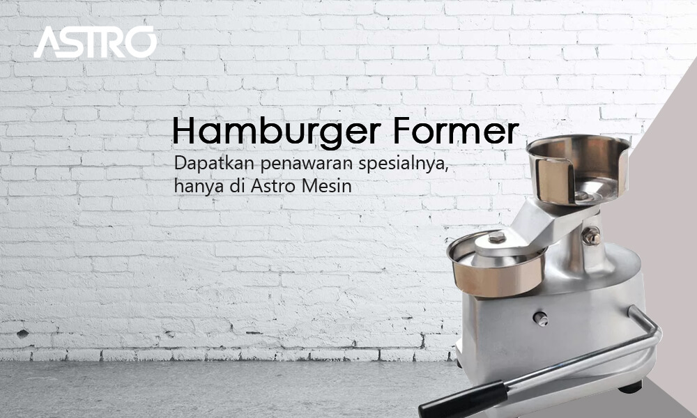 Mesin Hamburger Former