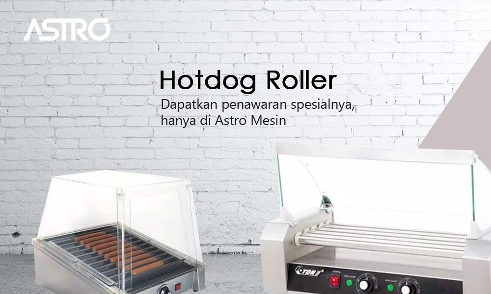 Mesin Hotdog Roller