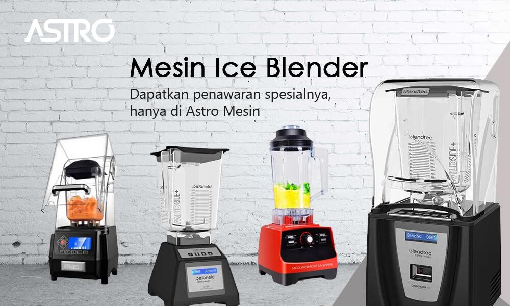 Banner Mesin Ice Blender