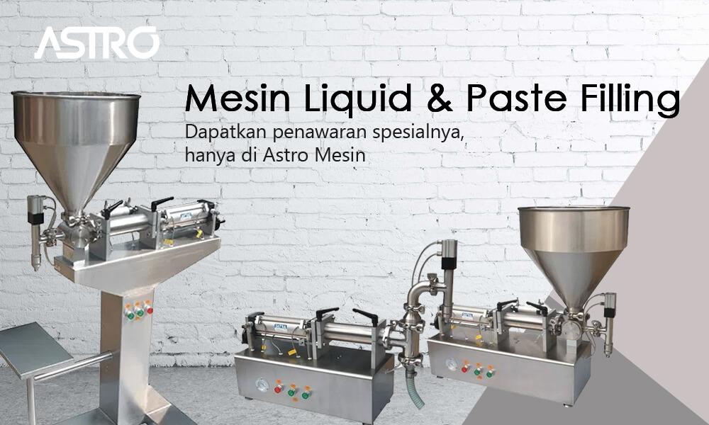 Banner Mesin Liquid Paste Filling