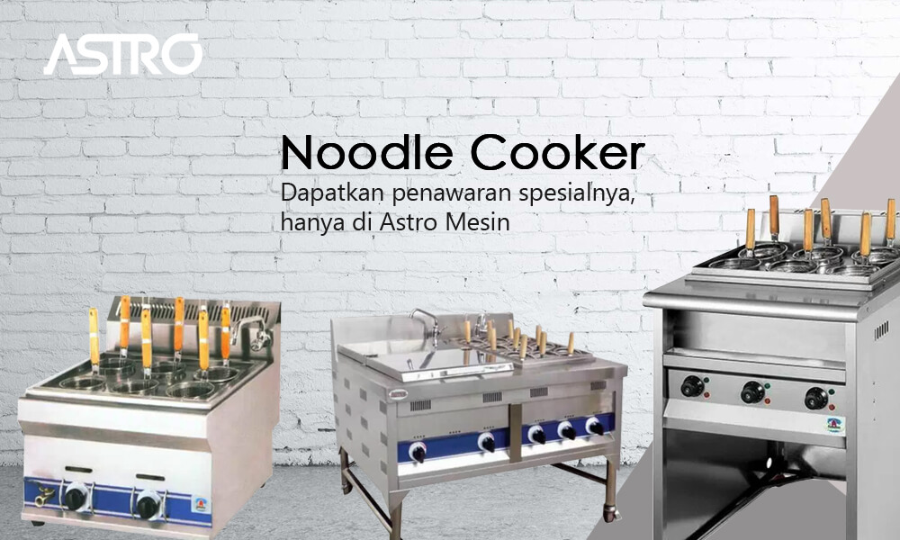 Mesin Noodle Cooker