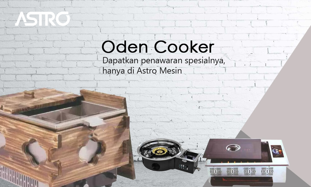 Mesin Oden Cooker