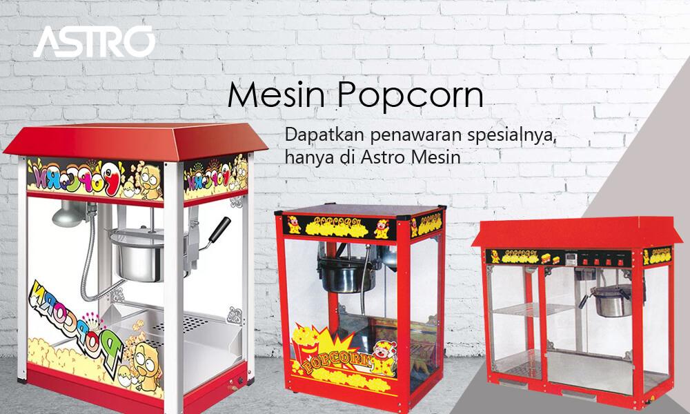 Banner Mesin Popcorn