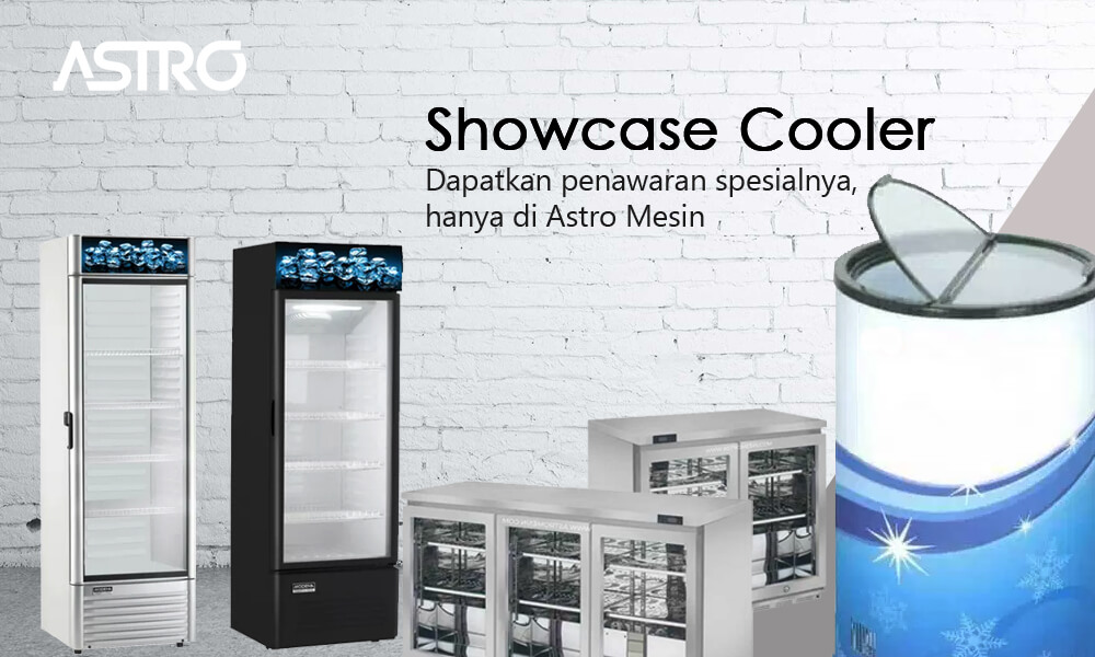 Mesin Showcase Cooler