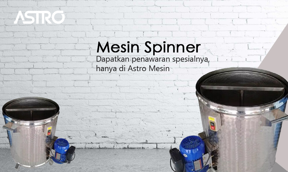 Mesin Spinner