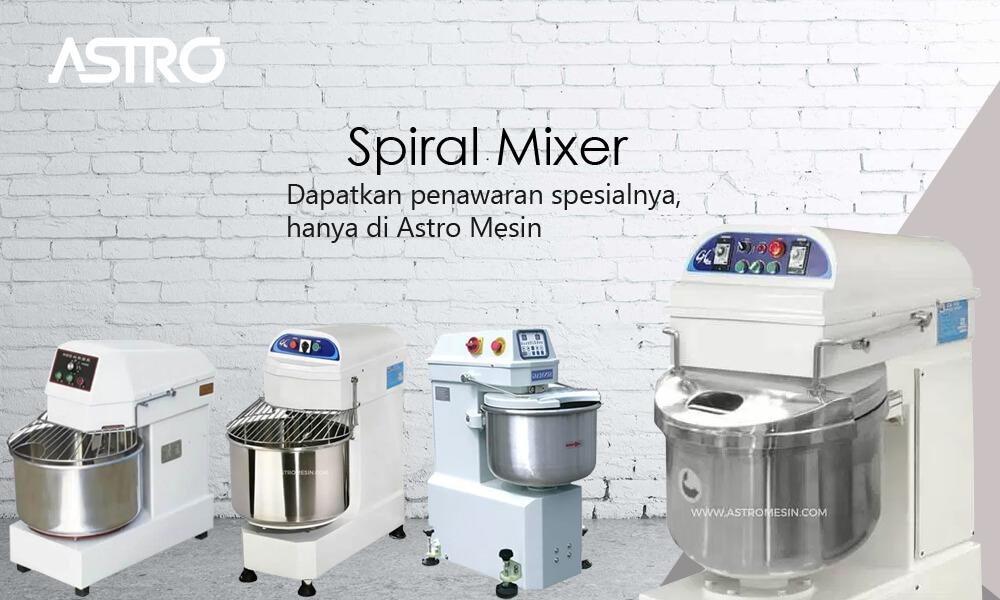 Mesin Spiral Mixer