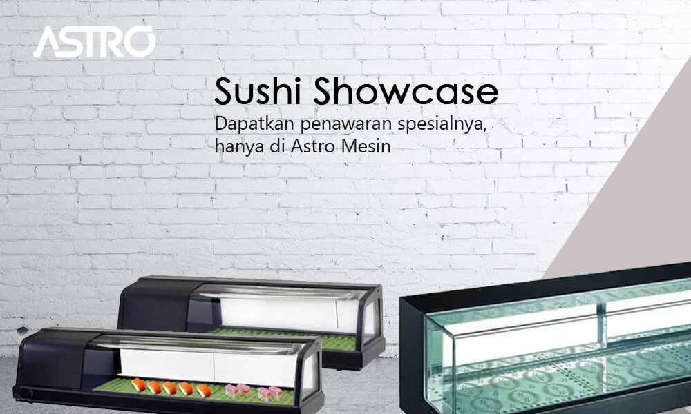 Mesin Sushi Showcase