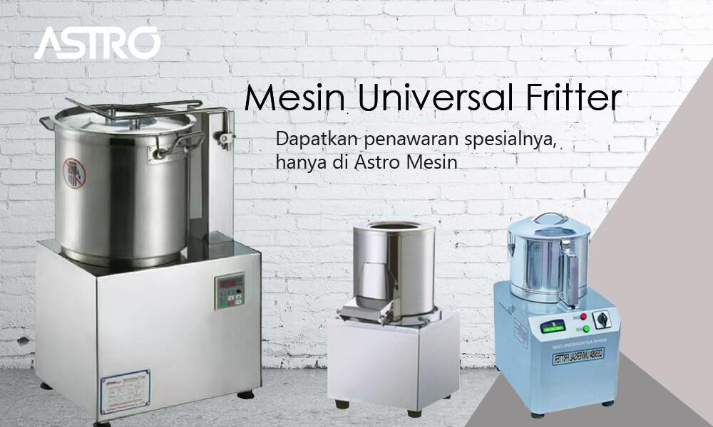 Banner Mesin Universal Fritter - Mesin Giling Bumbu