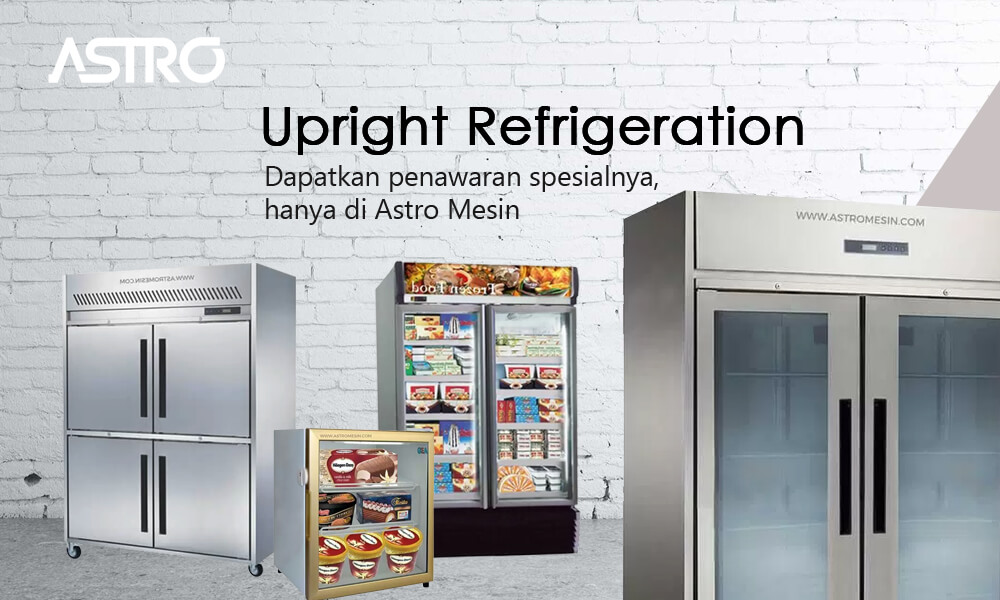Banner Mesin Upright Chiller & Upright Freezer Refrigeration