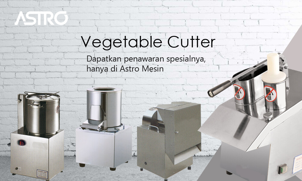 Banner Mesin Vegetable Cutter - Mesin Pemotong Sayur