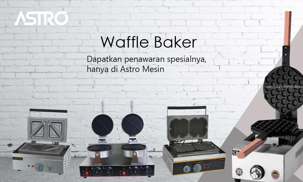 Banner Mesin Waffle Baker
